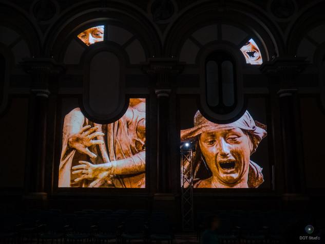Installazione momentanea Museo Diocesano Molfetta