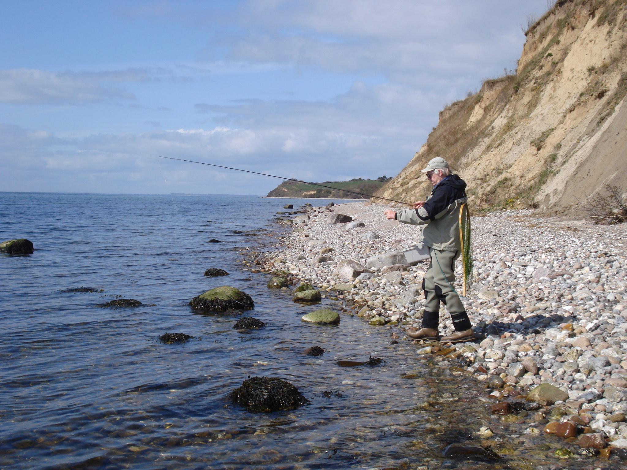 Küstenfischen in Dänemark
