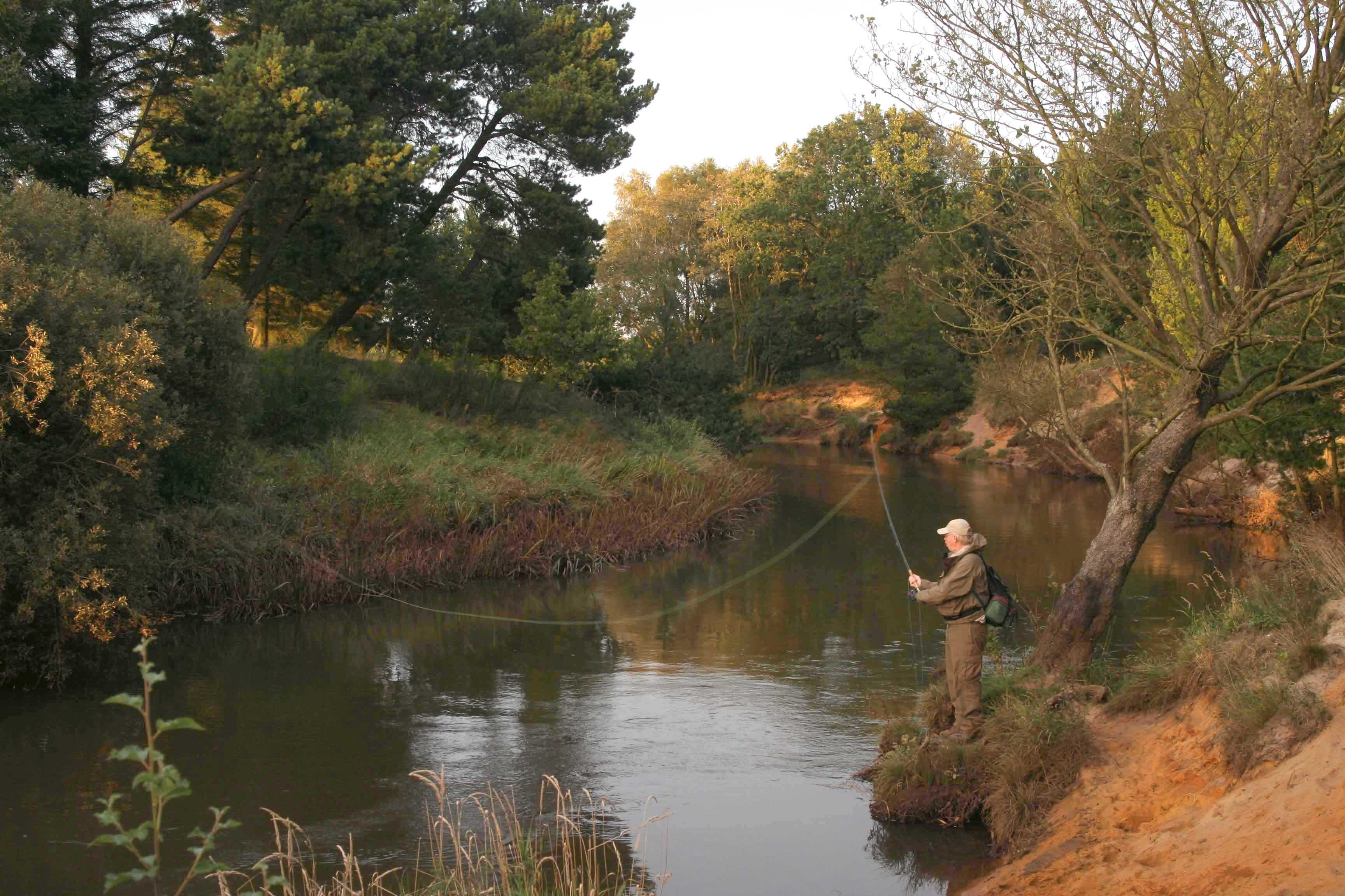Auf Lachs, Meerforelle & Bachforelle