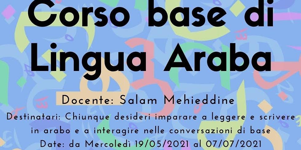 Corso base di lingua Araba.