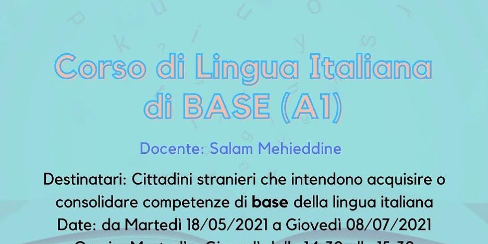 Corso di lingua italiana di base                 (A1)