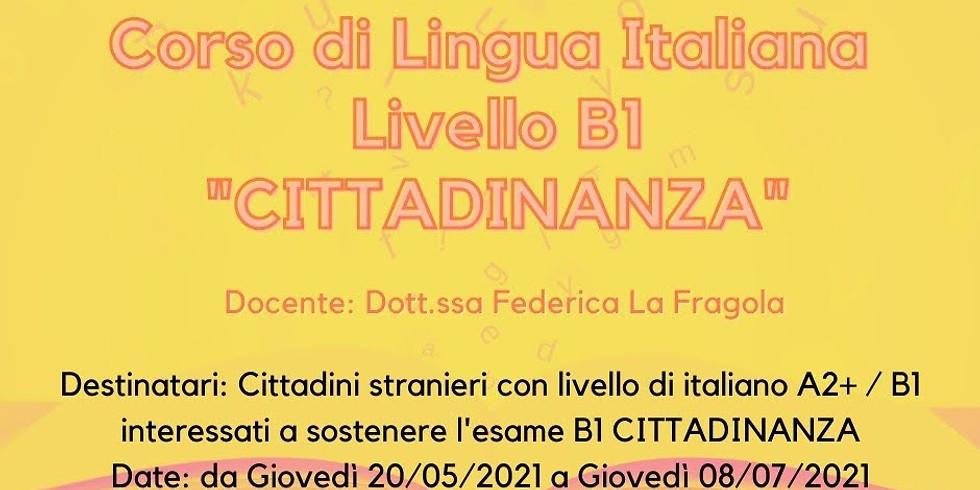 Corso di lingua Italiana (B1)
