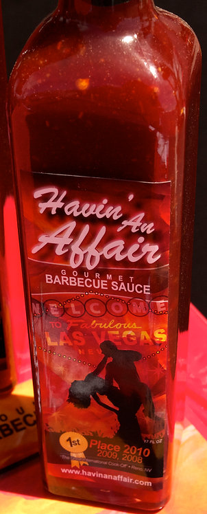 Havin' An Affair Original Barbecue Sauce 17 FL OZ