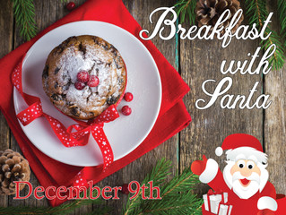 Join us for Breakfast with Santa!