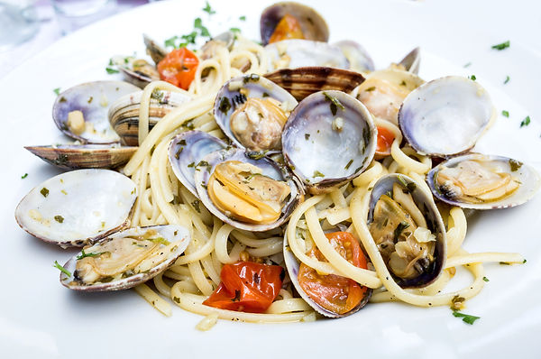 Pasta with Clam Dinner Dish