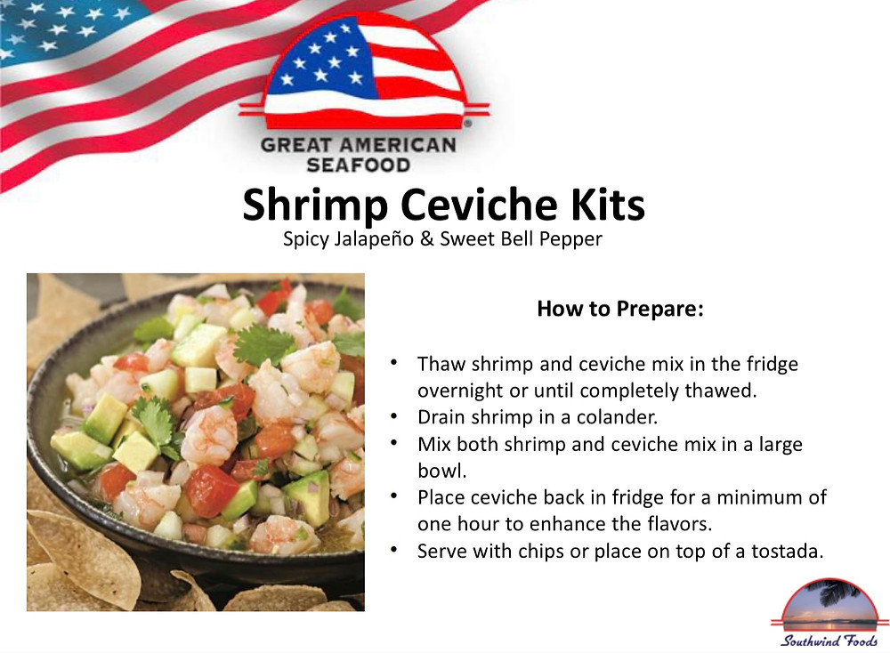 great american seafood ceviche kits