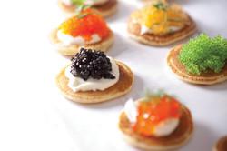 Blinis with Caviar