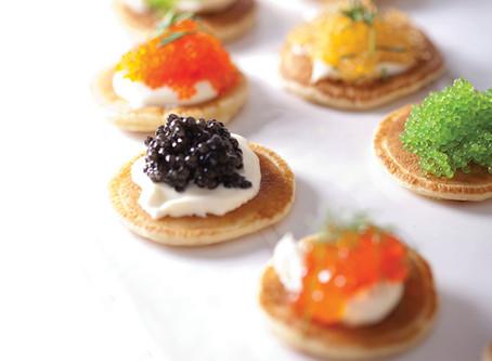 Blinis with Caviar - Recipe
