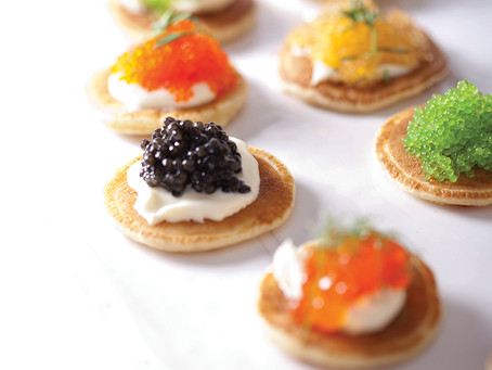 Blinis with Caviar - Recipe