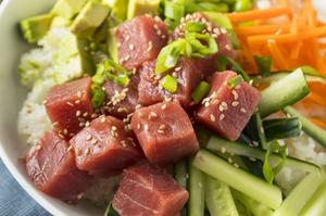 tuna poke kits - great american seafood