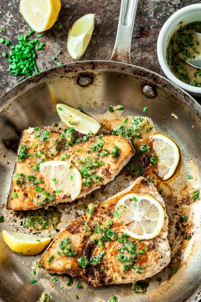 Lemon Garlic Swordfish