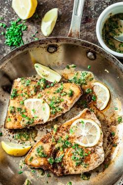 Lemon Garlic Swordfish