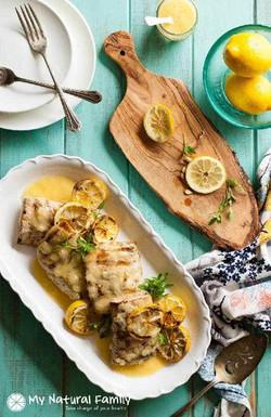 Grilled Mahi Mahi Recipe in a Lemon Butter Sauce