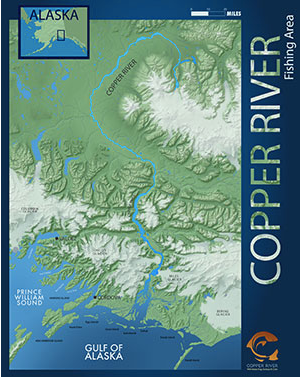 THE COPPER RIVER ALASKA, COPPER RIVER SALMON