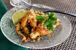 Indonesian Style Frog Legs