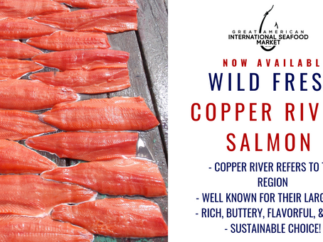 FRESH WILD CAUGHT COPPER RIVER SALMON - NOW AVAILABLE!