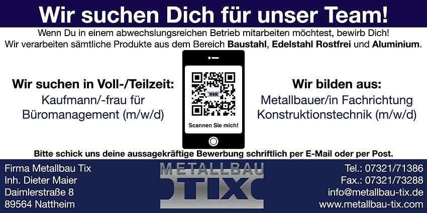 Metallbau Tix Anzeige 21-10-21.png