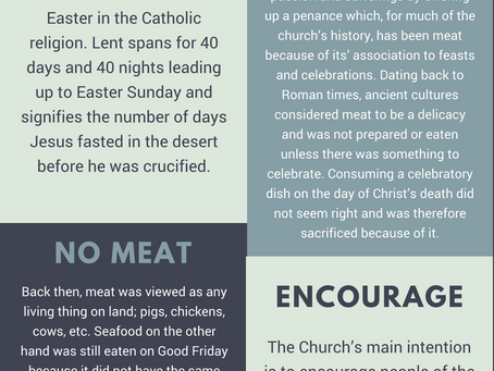 The Tradition of Lent and WHY We Eat Seafood on Fridays