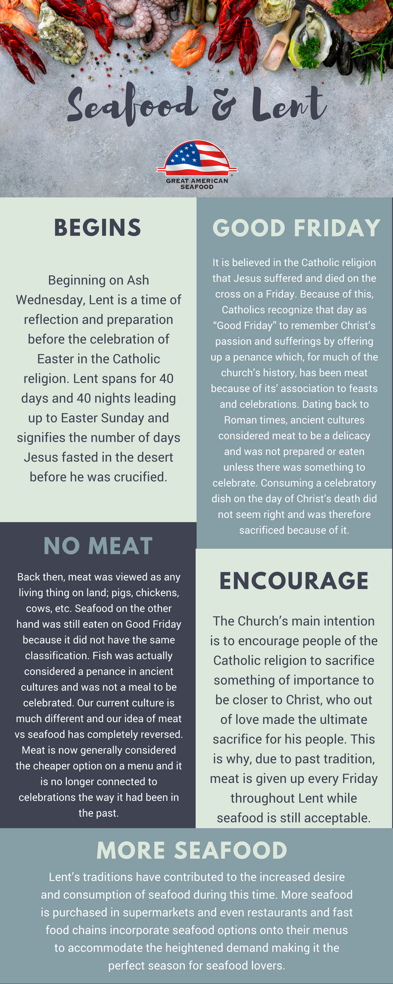 lent seafood traditions