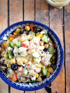 Tuna and Chickpeas Salad