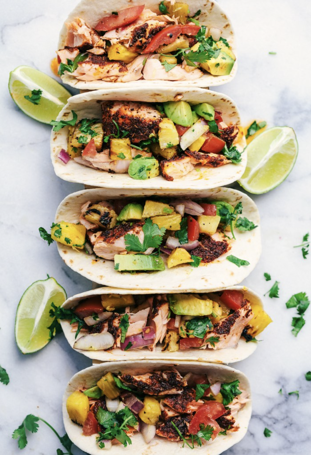 The Best Blackened Salmon Tacos