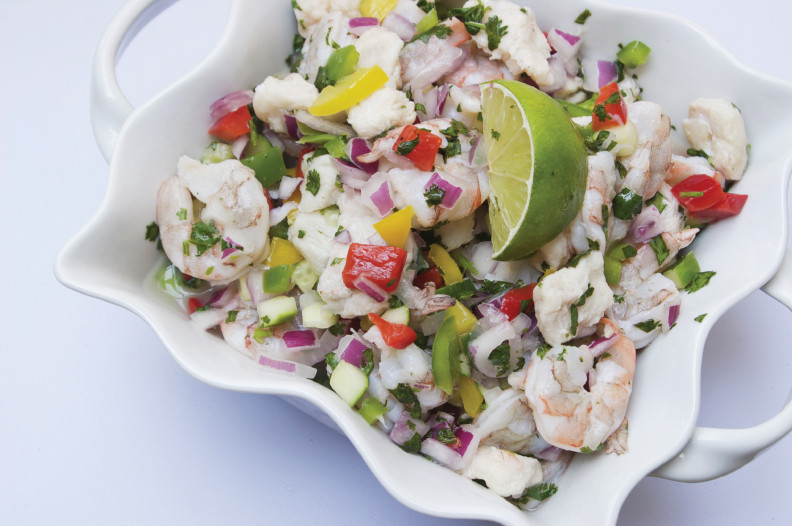 Great American Seafood Shrimp Ceviche kits