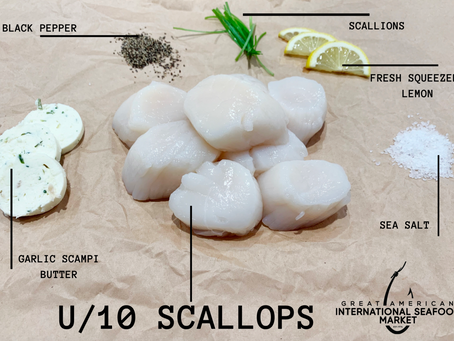 Simple Garlic Butter Scallop Recipe