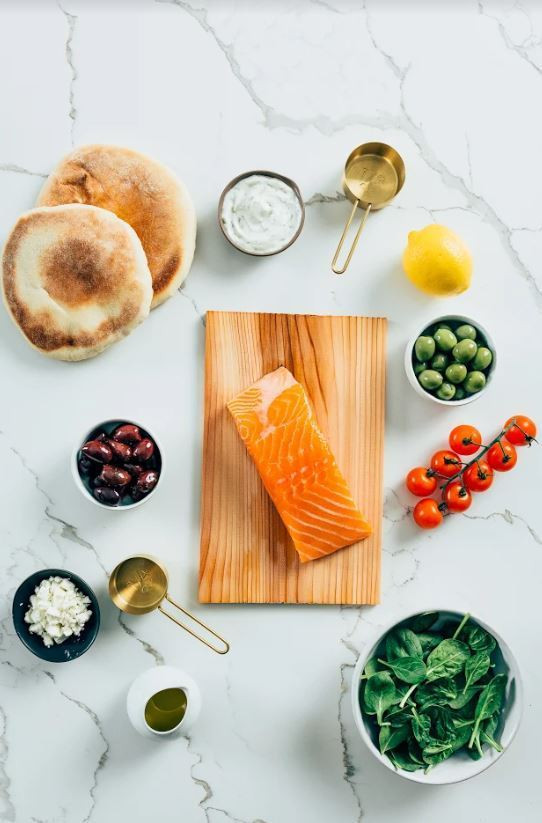 salmon recipe prep