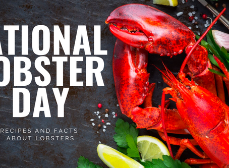 HAPPY NATIONAL LOBSTER DAY