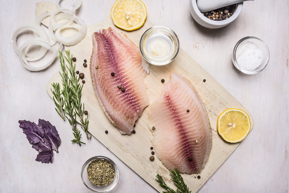 white fish - seafood cooking times