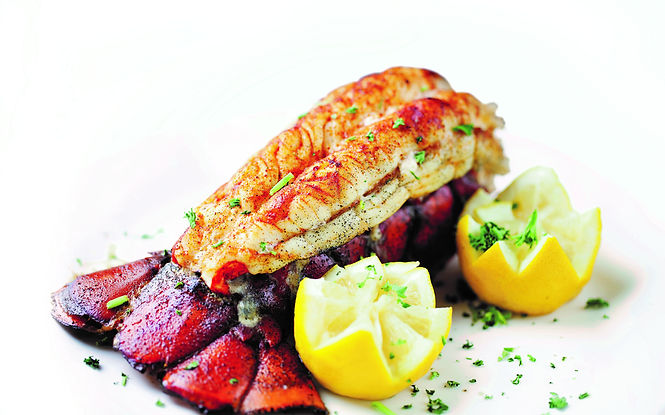 Saddle back Lobster tail