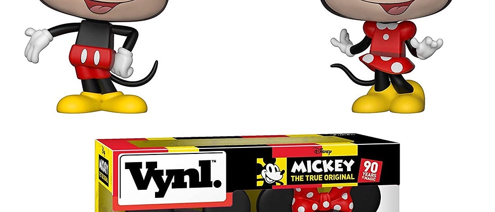 Mickey and Minnie Mouse Vynl