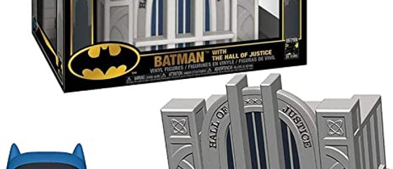 batman with the hall of justice 09 DC