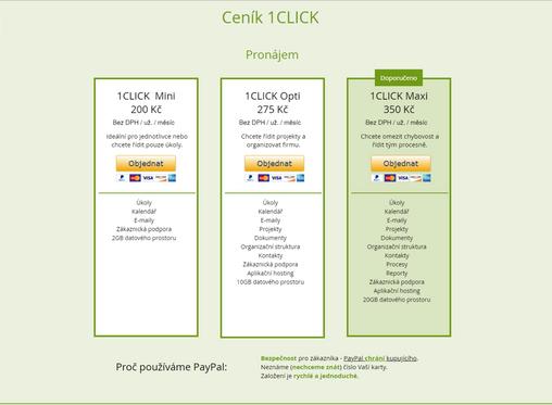 Jak na platbu přes PayPal