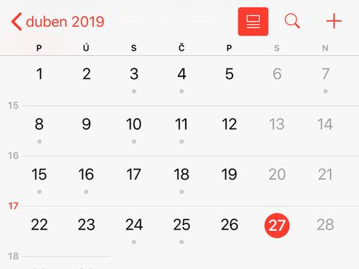 Synchronizace 1CLICK s iOS kalendářem
