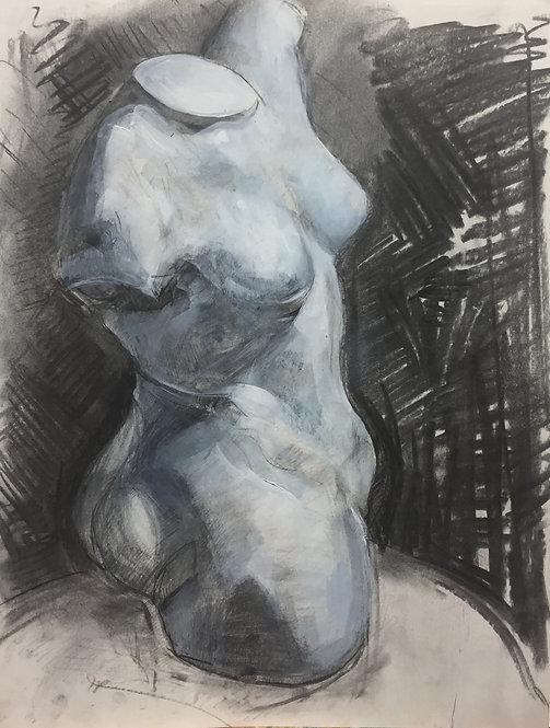 Female Torso Bust