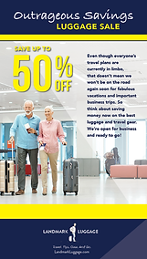 Landmark Luggage Inventory Reduction Cle