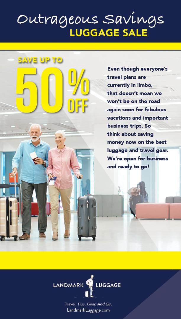 Landmark Luggage Outrageous Savings Emai