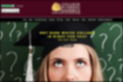 College Funding Experts homepage