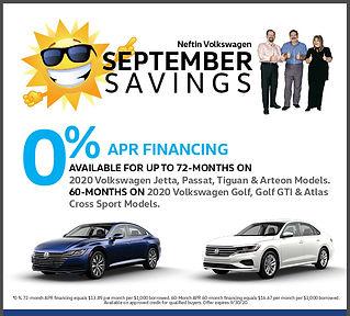 September '20 Sept Savings Online Print