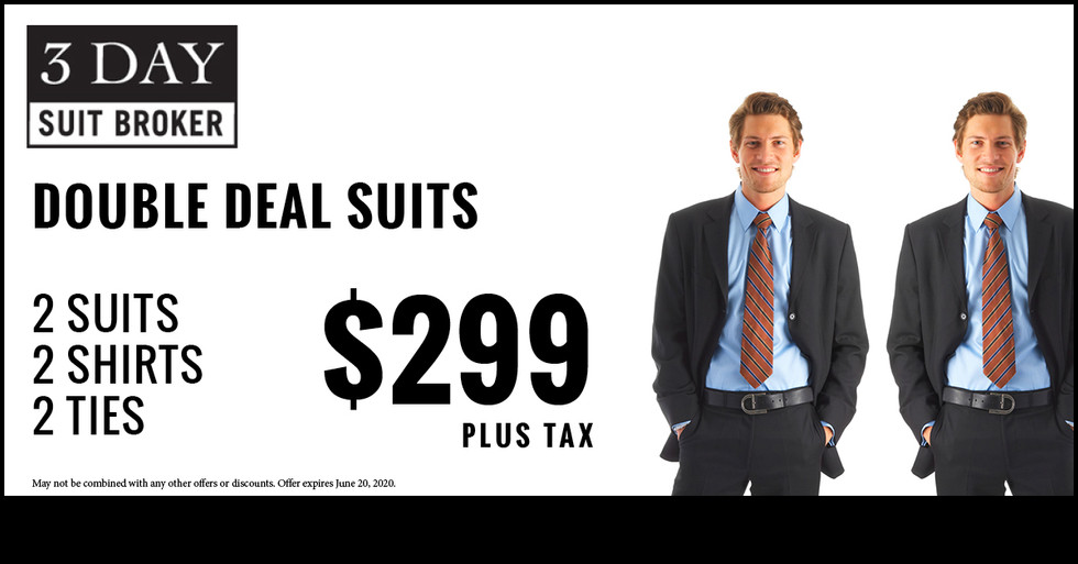 3 Day Suit Broker Facebook Ad