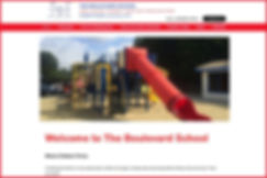The Boulevard School homepage.