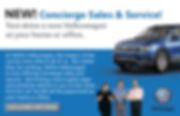 Information about concierge Service Neftin VW