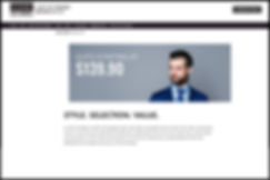 3 Day Suit Broker homepage.