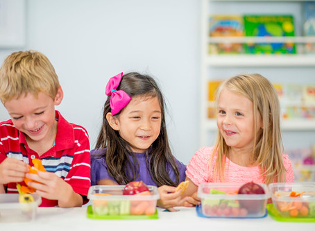 Kids Learn More By Eating Healthy