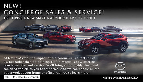 Information about concierge service for Neftin Westlake Mazda