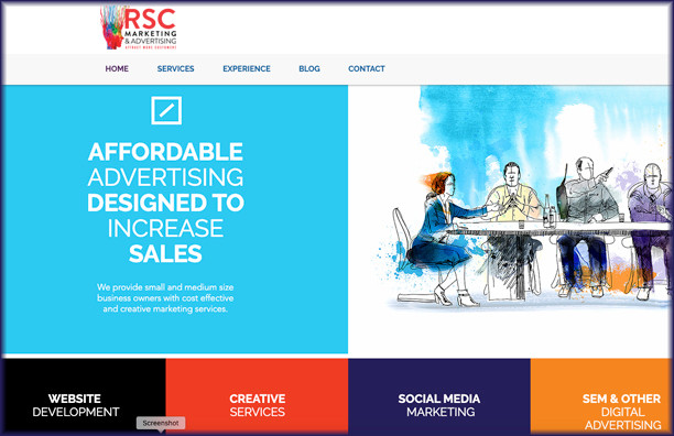 New RSC Website