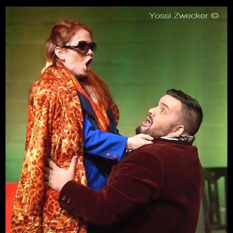 Mozart - The Impresario (Mademoiselle Silberklang) 2016 Israeli Opera Studio