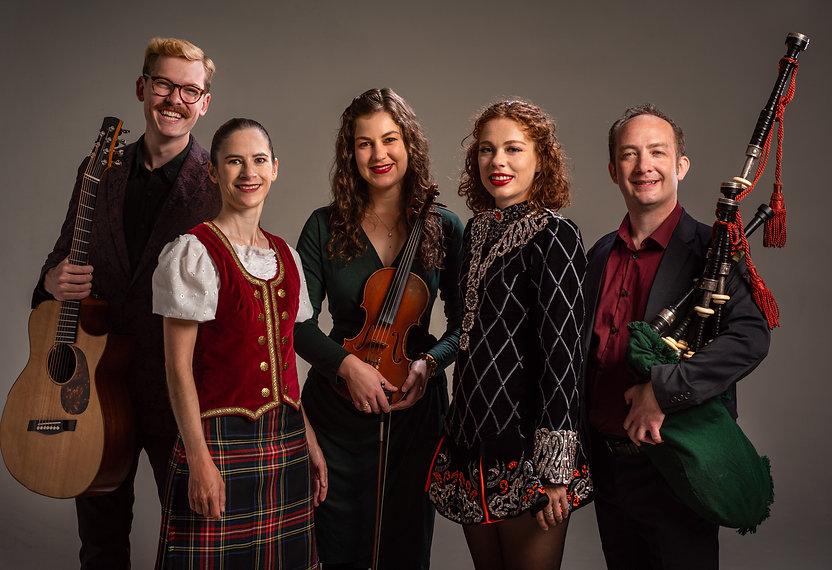 The Fire's Very Scottish Christmas Promo Photo.JPG