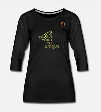 Maglietta da donna con manica a 3/4   Unique